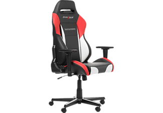 DXRACER Drifting Black/White/Red, Gaming Chair, Schwarz/Weiß/Rot