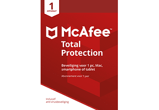 mcafeesoftware McAfee Total Protection 2018, 1 apparaat