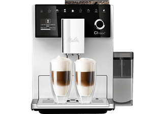 MELITTA F 630-101 CI Touch®, Kaffeevollautomat, 1.8 Liter Wassertank, Silber/Schwarz