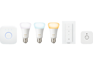 PHILIPS Hue White Starter Kit Kaltweiß bis Warmweiß