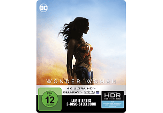 Wonder Woman - Steelbook [4K Ultra HD Blu-ray]