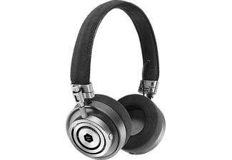 MASTER & DYNAMIC MH30, On-ear Kopfhörer, Headsetfunktion, Gunmetal/Alcantara