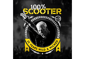 Scooter - 100% Scooter - 25 Years Wild & Wicked (3CD-Digipak) - (CD)