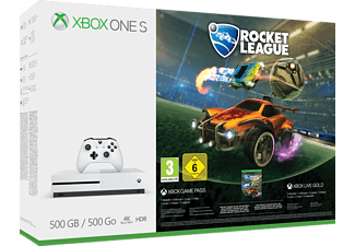 MICROSOFT Xbox One S 500GB Konsole - Rocket League Bundle