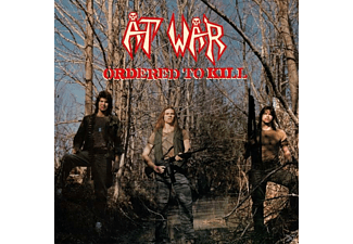 At War - Ordered To Kill (Blood-Red Vinyl+Poster) - (Vinyl)