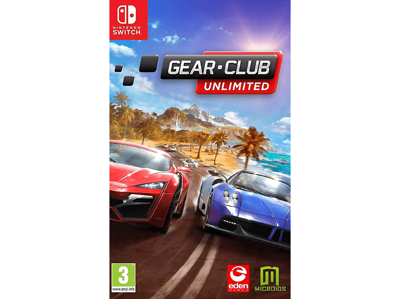 Gear Club Unlimited Nintendo Switch gaming games switch games