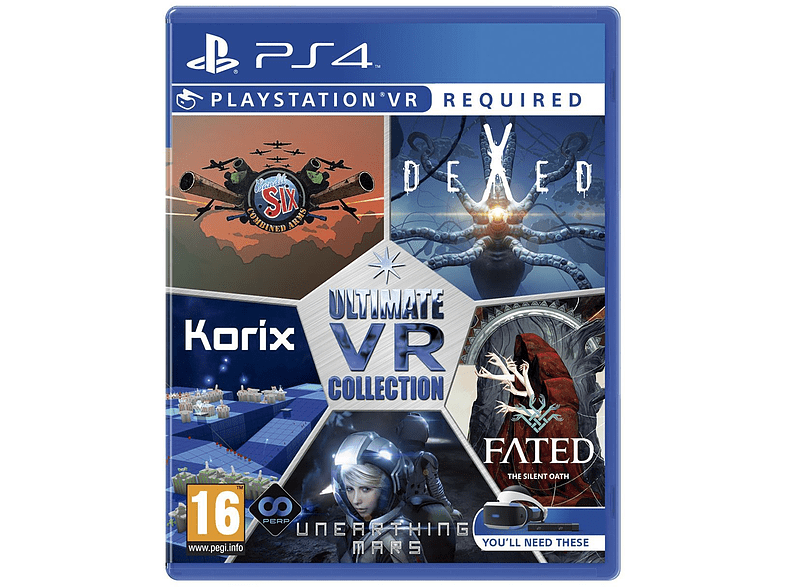 Ultimate VR Collection gaming games ps4 games