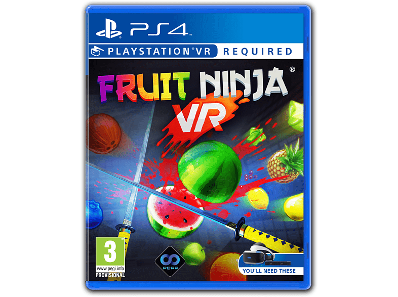 Fruit Ninja VR PlayStation 4 gaming games ps4 games