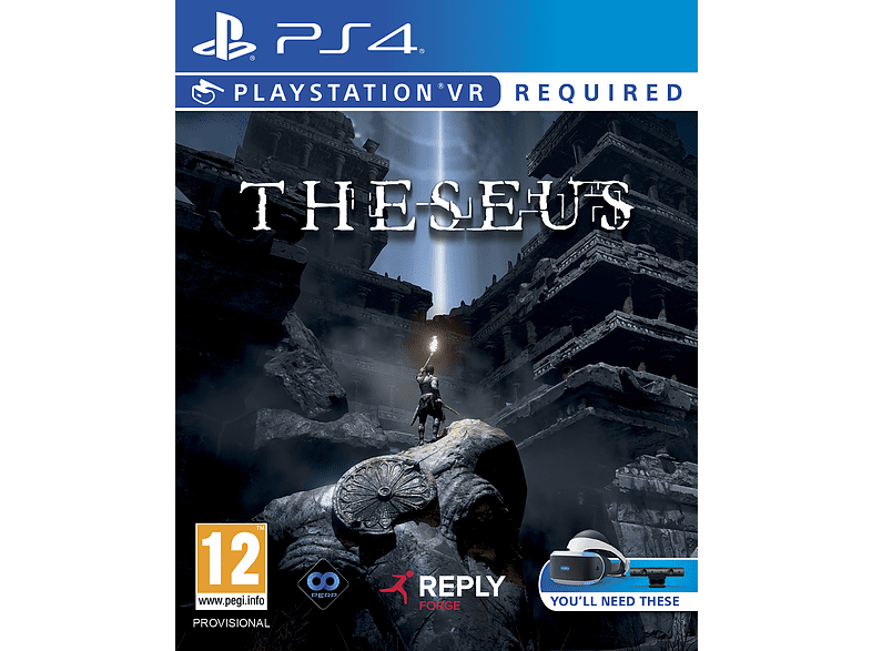 Theseus VR gaming games ps4 games