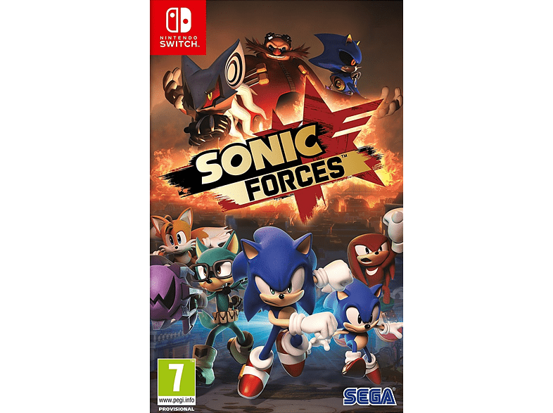 Sonic Forces gaming games switch games