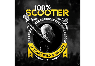 Scooter - 100% Scooter - 25 Years Wild & Wicked (Ltd.5CD-Digipak) [CD]