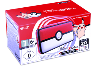 NINTENDO New Nintendo 2DS XL Limited Pokéball Edition