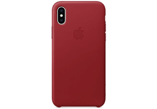 coque apple rouge iphone x