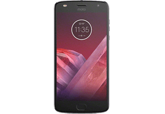 moto z2 play 4 64gb dual sim lunar gray mobiltelefoner. Black Bedroom Furniture Sets. Home Design Ideas