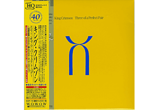 King Crimson - Three of a Perfect Pair 40th Ann. (Japán Kiadás) (CD)