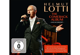 Helmut Lotti, The Golden Symphonic Orchestra - The Comeback Album-Live in Concert Lim.Fan Box - (CD + DVD Video)