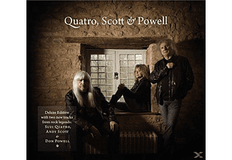 Qsp - Scott & Powell Quatro - (CD)