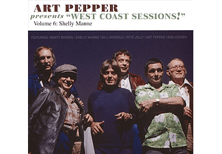 Art Pepper - Art Pepper Presents West Coast Sessions!: Vol. 6: Shelly Manne (CD)