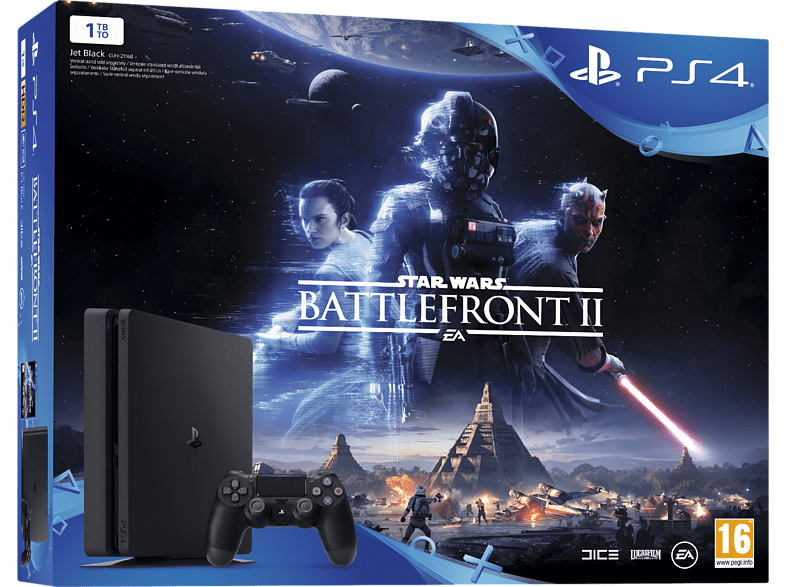 SONY PS4 1ΤΒ E Chassis+ Star Wars Battlefront II gaming κονσόλες κονσόλες ps4