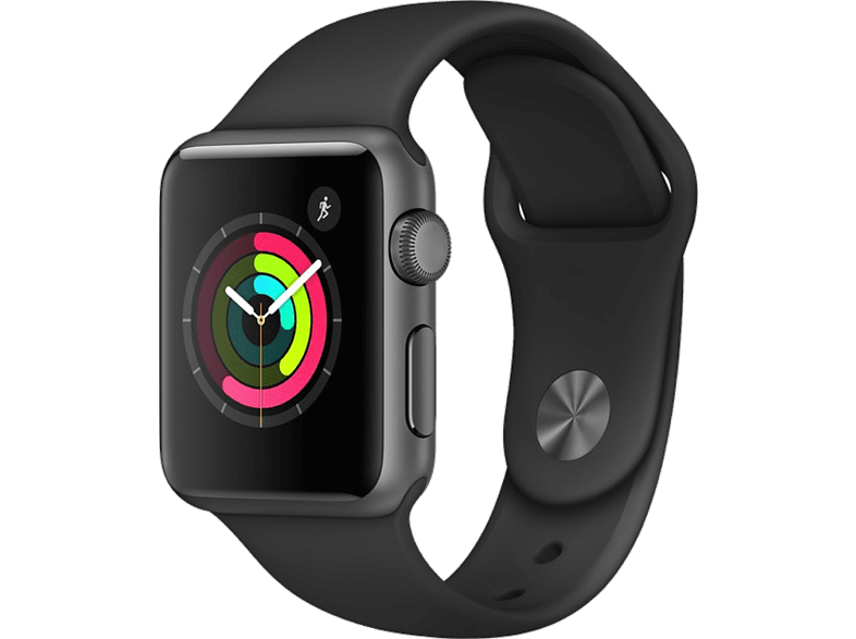 APPLE Watch Series 1 38mm Space Grey Aluminium - (MP022GK/A) smartphones   smartliving wearables smartwatches