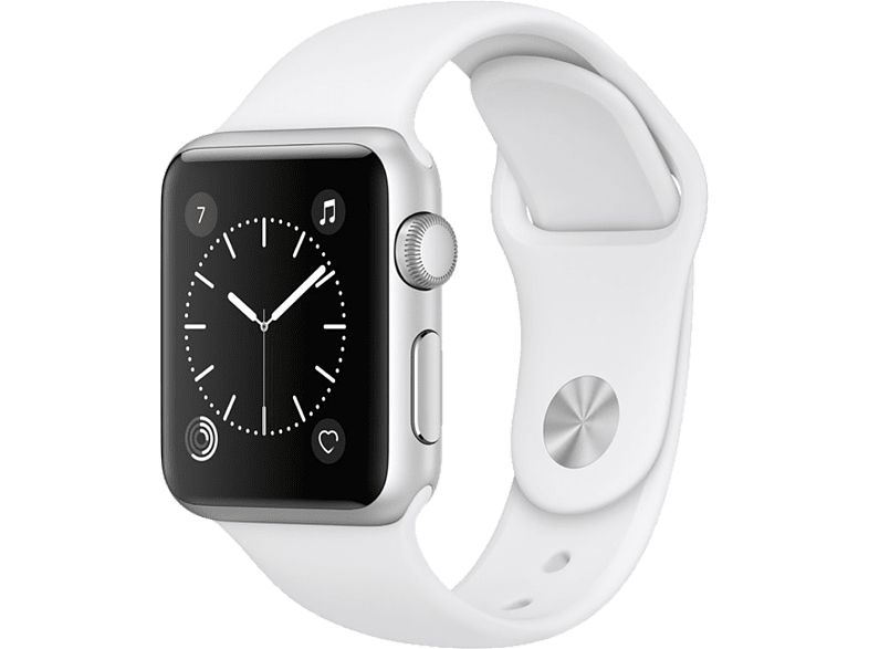 APPLE Watch Series 1 38mm Silver Aluminium - (MNNG2GK/A) smartphones   smartliving wearables smartwatches