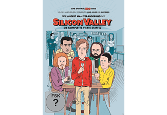 Silicon Valley - Die komplette 4. Staffel - (DVD)