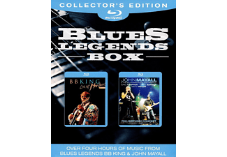 B.B. King, John Mayall - Blues Legends Box (3D Blu-ray)