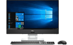 "DELL Inspiron 5475 Quad Core AMD Pro A10-9700E / 8GB / 1TB+128SSD / RX 560 4GB /24"" Infinity Edge Display"