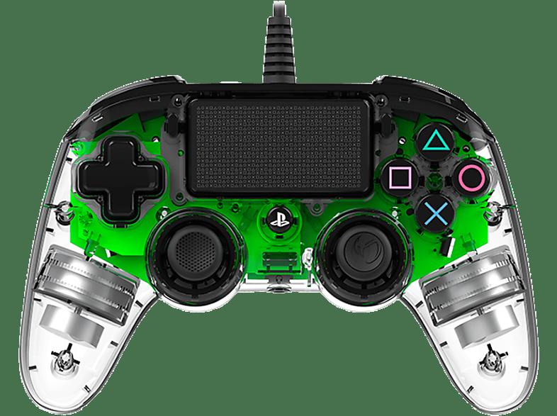 BIG BEN Nacon wired controller Green Crystal gaming απογείωσε την gaming εμπειρία αξεσουάρ ps4