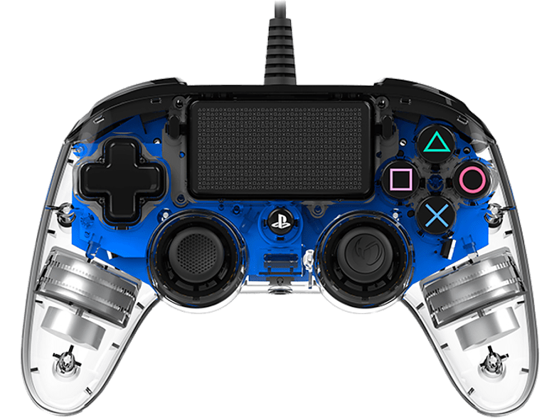 BIG BEN Nacon wired controller Blue Crystal gaming απογείωσε την gaming εμπειρία αξεσουάρ ps4