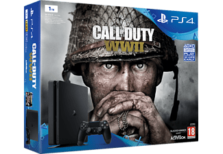 SONY PlayStation 4 Slim 1TB + Call of Duty: WWII + That's You!