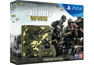 SONY PlayStation 4 Slim 1TB Limited Edition + Call of Duty: WWII + That's You!