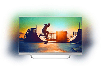 PHILIPS 49PUS6482/12, 123 cm (49 Zoll), UHD 4K, SMART TV, LED TV, Ambilight 3-seitig, DVB-T2 HD, DVB-C, DVB-S, DVB-S2