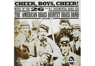 The American Brass Quintet Brass Band - Cheer,Boys,Cheer! - (CD)