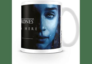 Game of Thrones Tasse Winter is Here Daenerys Targaryen