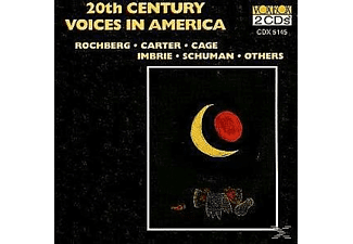 VARIOUS, Penn Contemporary Players, Concord String Quartet - 20th Century Voices - (CD)