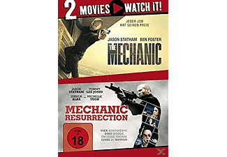 THE MECHANIC/MECHANIC RESURRECTION [DVD]