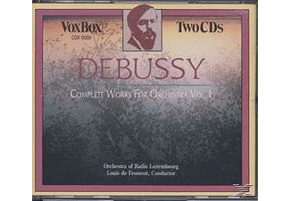 Froment, Orchestre De Radio Luxembourg, Froment/Orchestre De Radio Luxembourg - Debussy Werke Für Orchester Kpl. - (CD)