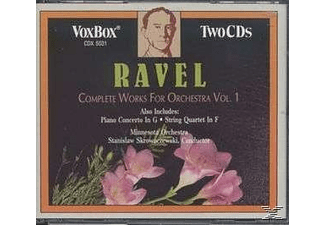 VARIOUS, Stanislaw/minnesota Orchestra Skrowaczewski - Ravel:Works For Orch.Vol.1 - (CD)