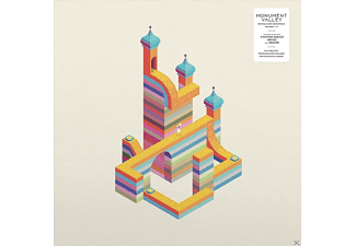 Stafford Bawler, Grigori, Obfusc - Monument Valley (White & Blue Vinyl 2LP/Gatefold) - (Vinyl)