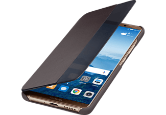 Smart View Flip Cover Huawei Mate10 Pro PU + PC Braun