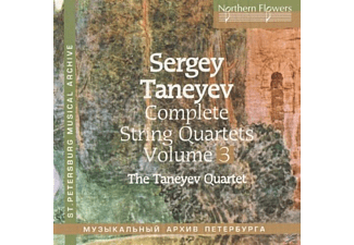 Taneyev Quartet - Complete String Quartets vol.3 - (CD)