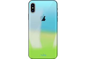 "PURO ""Hologram"" Cover Backcover Apple iPhone X  Blau"