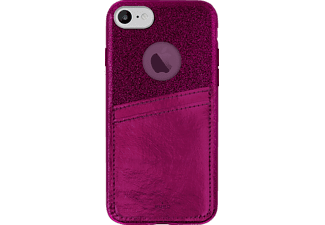 PURO Shine Pocket iPhone 6/iPhone 6s/iPhone 7/iPhone 7s Handyhülle, Bordeaux-Rot
