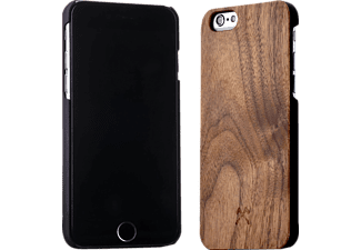 WOODCESSORIES EcoCase Classic Backcover Apple iPhone 6(s) Walnuss/Echtholz Braun/Schwarz