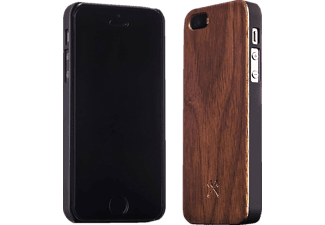 WOODCESSORIES EcoCase Classic Backcover Apple iPhone 5, iPhone 5s, iPhone SE Echtholz/Polycarbonat Walnuss