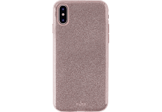 "PURO ""Shine Cover"" Backcover Apple iPhone X  Rose Gold"
