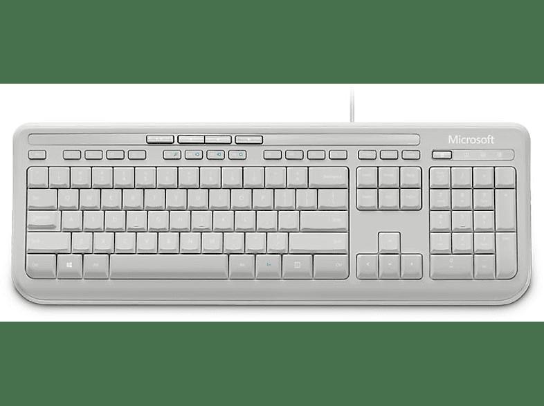 MICROSOFT Microsoft Wired Keyboard 600 GR White - (ANB-00031) laptop  tablet  computing  περιφερειακά πληκτρολόγια   ποντίκια