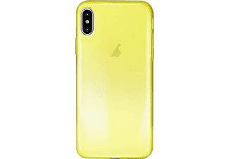 "PURO ""0.3 Nude"" Cover Backcover Apple iPhone X  Gelb"