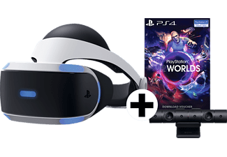 SONY PS4 VR Set:  Virtual Reality + Camera + VR Worlds (download Code)